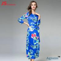 Best Classical Slim Fit Long Sleeve Cocktail Dresses With Nine Points Sleeve wholesale