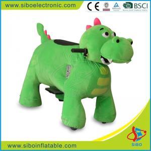 Best Sibo Animal Battery Car Animated Plush Animals Motorized Plush Riding Animals wholesale