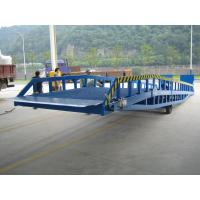 Buy cheap DCQY 10 - 0.8 Hydraulic Dock Leveler Equipment with Rated Load 10t product