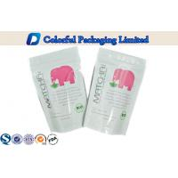China 100g organic food Glossy printing stand up foil pouches With Ziplock , OEM / ODM wholesale