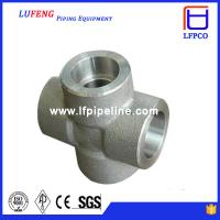 Best 3000 LBS Carbon Steel Forged Pipe Fitting Socket Weld Cross wholesale