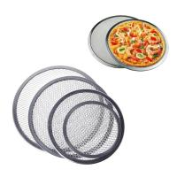 Cheap Food Grade Wire Mesh Filter Disc , Stainless Steel / Aluminum Pizza Screen for sale