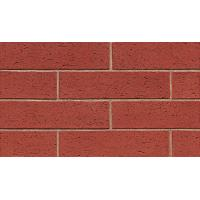 Red Color Brick Flexible Ceramic Tile Various Stone Sand Materials 60x240 Mm Size