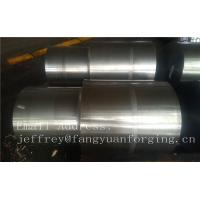China 42CrMo4 SCM440 AISI 4140 Alloy Steel Forged Shaft Blanks Quenching And Tempering Rough Machining on sale