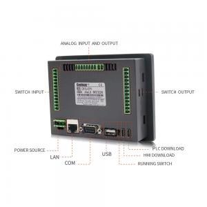 Customized PWM HMI PLC Combo Passive NPN 8 Channels PLC Touch Panel