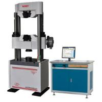 Best Three Phases Computerised Universal Testing Machine With Hydraulic Clammping wholesale