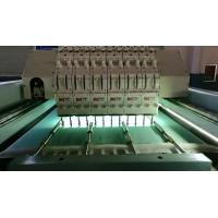 Best 5KW Horizontal Quilting Embroidery Machine Single Head Integral Steel Structure wholesale
