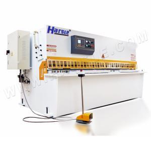 Best QC12K 10x2500 Swing beam shearing machine Stainless steel metal sheet iron plate sheet cutting machine wholesale