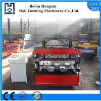 Best Aluminum Profile Floor Deck Roll Forming Machine 0.3 - 0.8mm Plate Thickness wholesale