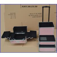 Best aluminum trolley vanity case with foldable drawers KLMYY380-270-780 wholesale