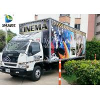 Best Movable 7D Movie Theater Trailer wholesale