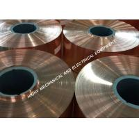China 1.30mm Thickness Copper Foil Strip 99.90 Cu Totally Annealed And High Purity on sale