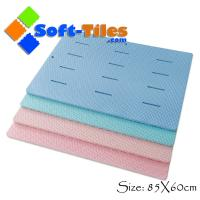 China Large shower mat bathroom EVA mat Anti-slip , water-proof 85*60cm on sale