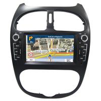 Buy cheap Peugeot 206 GPS Navigation Car Multimedia DVD Player With Android / Windows System product