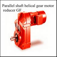 China Parallel Shafe Helical Geared Motor on sale