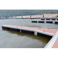 Best Customized Marine Finger Pontoon Long HDPE  Floats with WPC Decking wholesale