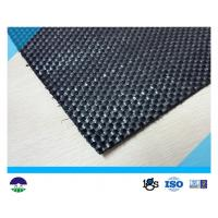 China Black Woven Geotextile for Reinforcement Fabric 87KN / 60KN 390G wholesale