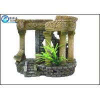 Buy cheap Portable Aquarium Resin Ornaments Aquatic Creations Corner Columns For Home from wholesalers