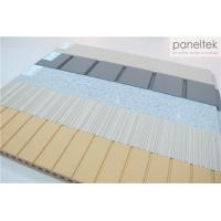 Best High Strength Terracotta Panels Ceramic , Lined / Grooved / Flat Exterior Wall Cladding wholesale