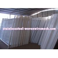 Best White Vinyl Coated Welded Wire Mesh Fencing Metal Mesh Fence Oxidation Resistance wholesale