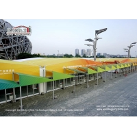 China DIN 4102 B1 4m Waterproof Outdoor Exhibition Tents on sale