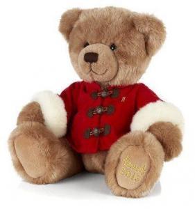 Best Soft Colorful Teddy Bear Plush Toys With Overcoat , Custom Stuffed Animals wholesale