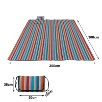 Best Beach Blanket Sand Proof Outdoor Picnic Blanket Water Resistant Large Mat for Camping wholesale