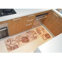 China Non-Skid Comfortable bathroom rugs and mats , Recycled Microfiber Flooring Mat Carpet on sale
