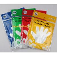 Best biodegradable compostable Disposable gardening pe glove heat resistant food grade gloves,PE or poly gloves with embossed wholesale