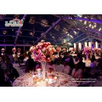 Best Transparent Design Aluminum A Frame Tent For Outdoor Event Wedding Party wholesale