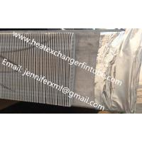 Buy cheap Single Row Finned Aluminum Tubing Height 20mm x 1mm Thickness product
