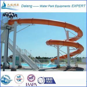 Best Custom Swimming pool water slide For Water Park wholesale