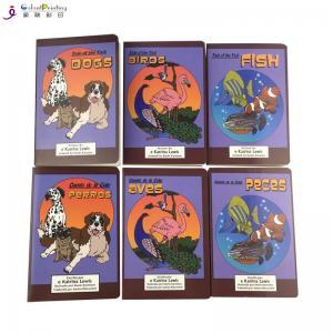Best Coated Paper Children'S Board Book Printing Sewn Case Binding UV Varnish wholesale