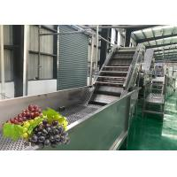 Best Water Saving Fruit Juice Processing Equipment Fresh Grape Washing Machine Environment Friendly wholesale