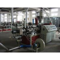 Best Plastic Extrusion Machine Twin Screw Extruder For PVC Pelletizing wholesale