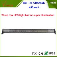 Best China factory hot wholesale 450w Epistar off road led light bar 3 rows 55 inch wholesale