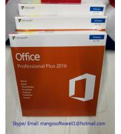 Best Pro Plus 32/64 Bit Office 2016 Retail Box Retail License Key 100% Online Activation wholesale