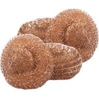 China 100% Copper Mesh Scourers,Copper Scouring Pads,Copper Scrubber,Brass Cleaning Ball on sale