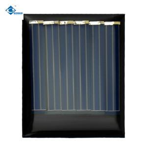 China 6 Battery Solar Panels 0.24W Solar Energy Panels ZW-4035 small size mini epoxy solar panels on sale