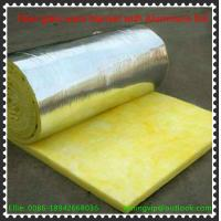 Best Glass wool blanket with reinforce Alum.foil with Yellow PE thermal shrinkage bags packing wholesale