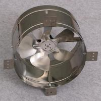 20W 12 Inch Solar Powered Gable Vent Fan Wall Mounted All Metallic Construction