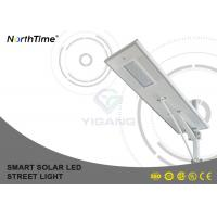 China Anti-Wind LED Road Light All In One Lighting System / Solar Street Lamp With Li Battery on sale