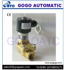 Best G1/8 - G11/2 Solenoid Air Valve For Nitrogen  / Oxygen / Carbon Dioxide Liquid Gas wholesale