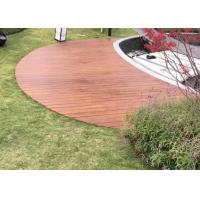 Best Non Skid Bamboo Outdoor Wood Tile , Outdoor Deck Flooring With Multilayer wholesale