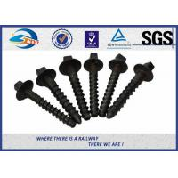 Buy cheap Durable Sleeper Screws UIC864-1 SS Series Crews For Railway Sleepers product