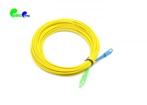 Best Simplex OS2 PVC LSZH 1550nm 3.0mm Fiber Optic Patch Cable wholesale