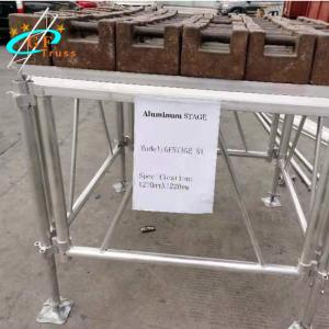 Best Adjustable Base Aluminum Stage Platform 2m Adjustable Height wholesale