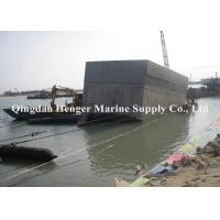 Best Dia1.2mx10m Marine Rubber Airbag , Black Rubber Ship Launching Airbags wholesale