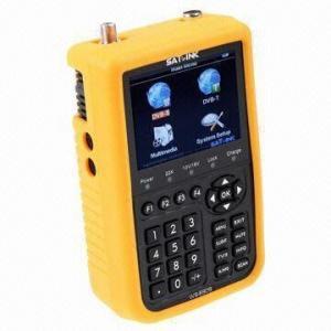 Best Satellite Finder for DVB-S DVB-T Combo Meter, 3,000mAh Li-ion Battery Capacity wholesale