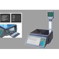 China Digital Weighing Scale With Printer / Electronic Retail Scale With Label Printer on sale